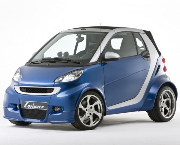 Aerodynamik-Set Smart ForTwo, Modell 451